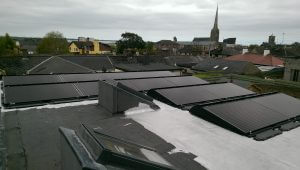 3.3kWP Flat Rooftop Solar PV Installation - Wexford