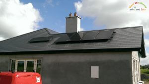 1.1kWP Solar PV System Commissioned - Co. Portlaoise