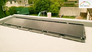 1.65kWP Solar PV Installation on FlatRoof and Pitch Roof - Co. Kildare