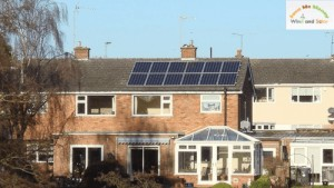 This 3kWP Solar PV System will Generate 3000kWH Electricity per Year for its Owner in the Next 25 Years.