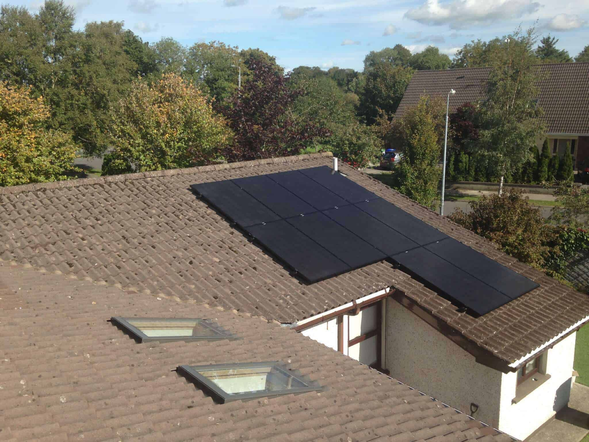 3.5kWP Smart SolarEdge Solar PV with Battery Installed in Co. Kildare