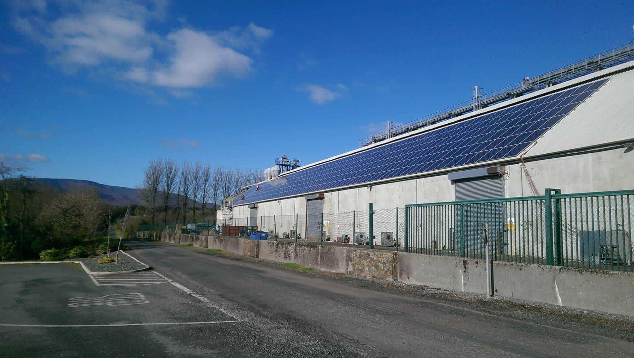 Flahavans 130kWP Rooftop Installation in Co Waterford with Fronius