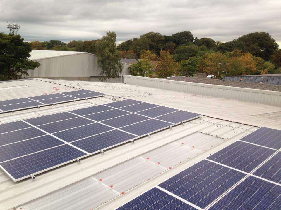 40 PV SME Solar PV Array Completed in Santry